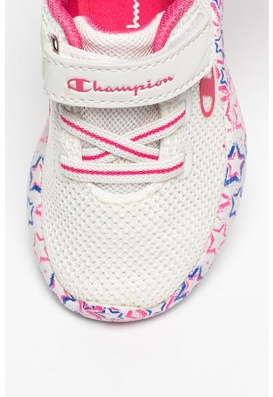 Champion Pantofi sport de plasa cu banda velcro Deux TD Fete