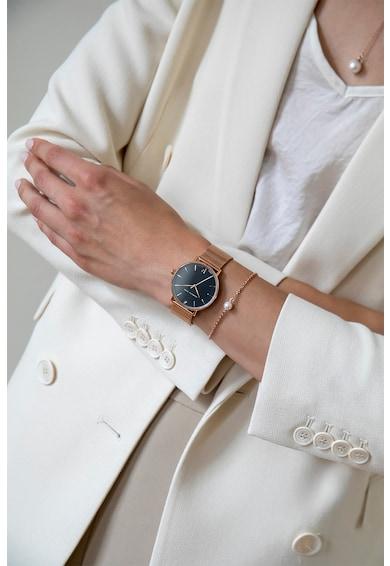 Isabella Ford Ceas analog decorat cu un diamant Femei