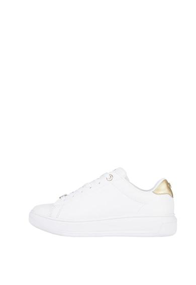 Tommy Hilfiger Pantofi sport de piele cu detalii logo Femei