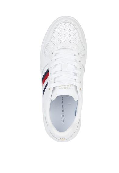Tommy Hilfiger Pantofi sport cu garnitura de piele Femei