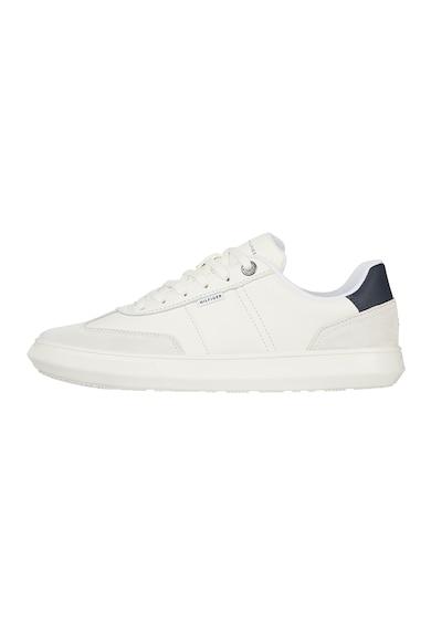Tommy Hilfiger Pantofi sport de piele si piele intoarsa cu detalii logo Barbati