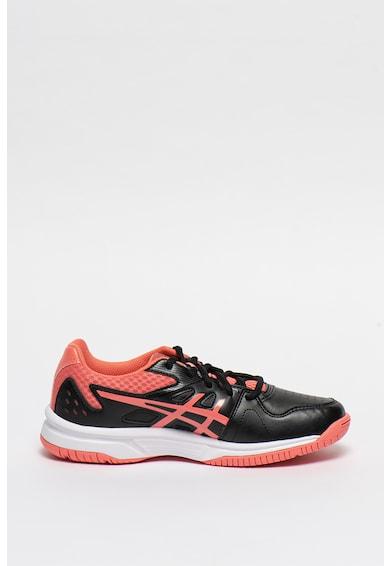 Asics Pantofi de plasa si piele ecologica pentru tenis Court Slide Femei