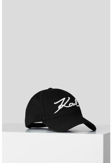 Karl Lagerfeld Sapca cu logo brodat Signature Femei