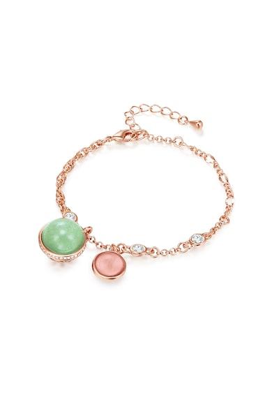 Highstreet Jewels Bratara placata cu aur si cu cristale Femei