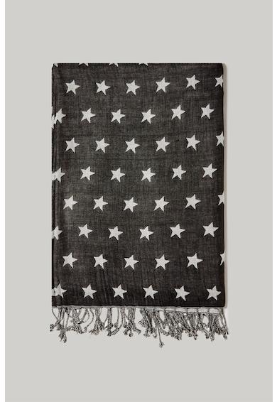 Fiorella Rubino Esarfa cu imprimeu cu stele Femei
