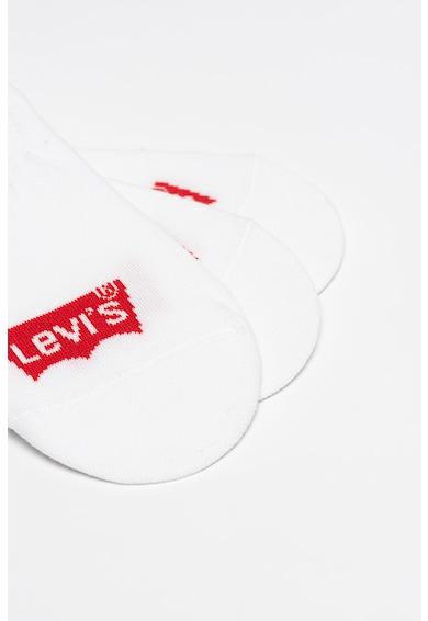 Levi's Set de sosete unisex foarte scurte - 3 perechi Femei