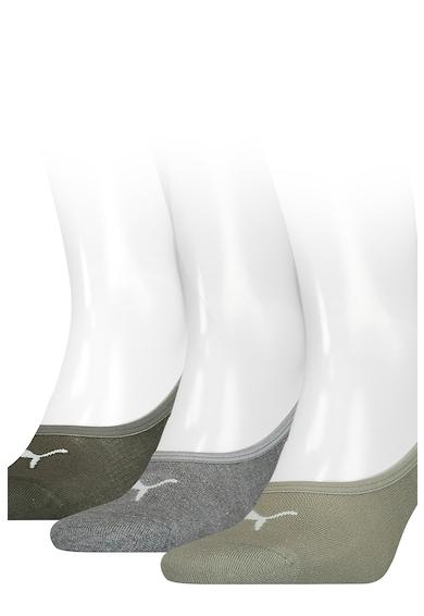 Puma Set de sosete foarte scurte unisex cu logo - 3 perechi Femei