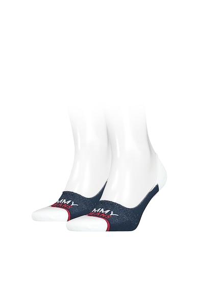 Tommy Jeans Set de sosete unisex foarte scurte cu logo - 2 perechi Femei