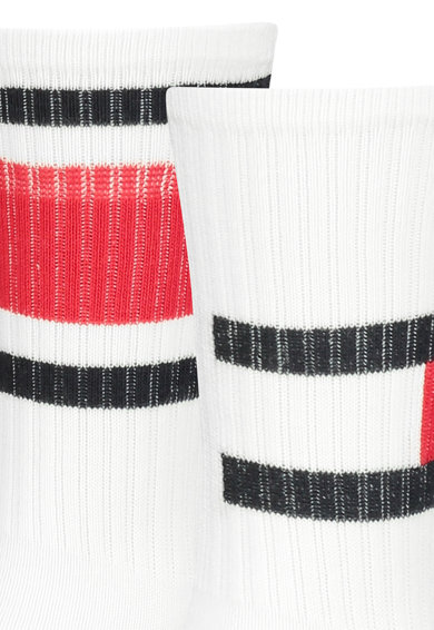 Tommy Hilfiger Set de sosete lungi cu logo - 2 perechi Fete