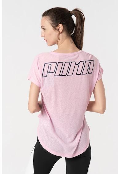 Puma Tricou cu terminatie asimetrica, pentru alergare Bold Femei
