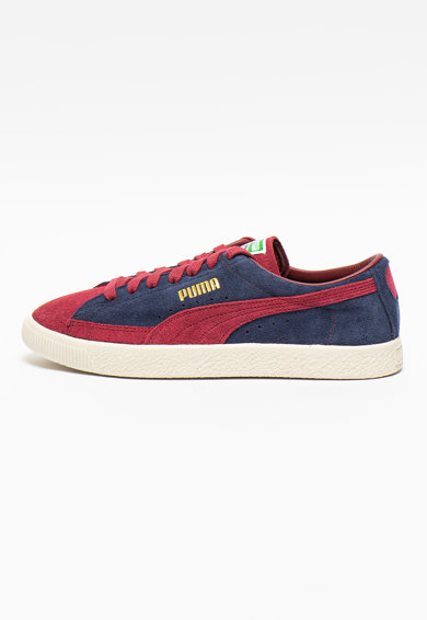 Puma Pantofi sport din piele intoarsa cu detalii logo 90681 Barbati