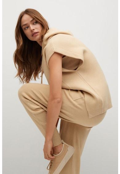 Mango Pantaloni jogger tricotati Robin Femei