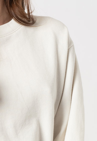 GAP Bluza sport cu decolteu la baza gatului si terminatii striate Femei