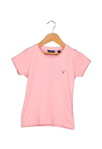 Gant Tricou slim fit cu logo brodat Fete