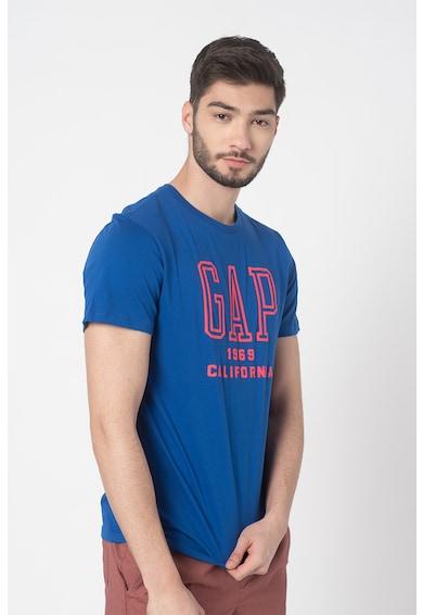 GAP Tricou cu decolteu la baza gatului si imprimeu logo Barbati