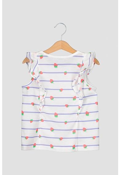 GAP Pijama cu imprimeu si volane Fete