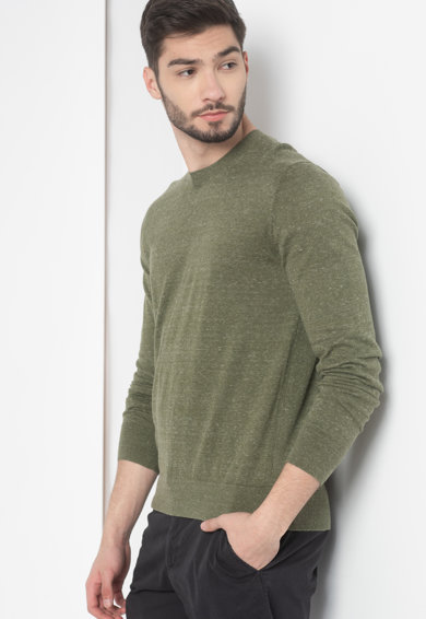 GAP Pulover tricotat fin din amestec de bumbac Barbati