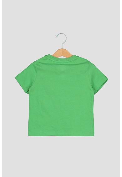 GAP Set 3 tricouri cu buzunar pe piept, baieti, cu imprimeu si uni, Rosu/Oranj/Gri Baieti