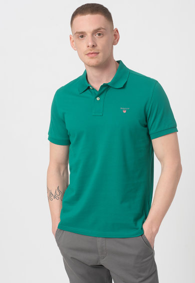 Gant Tricou polo regular fit Barbati