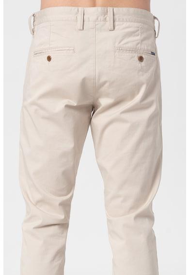 Gant Pantaloni chino slim fit din amestec de bumbac organic Barbati