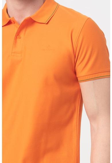 Gant Tricou polo slim fit din pique Barbati