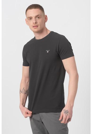 Gant Tricou slim fit din material pique Barbati