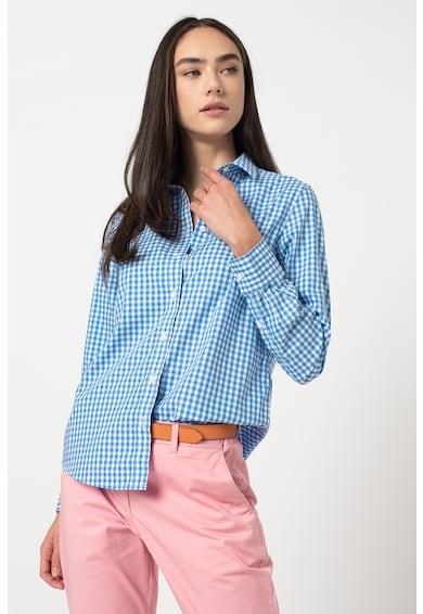 Gant Camasa relaxed fit cu model gingham Broadcloth Femei