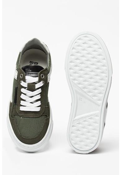 Bullboxer Pantofi sport de plasa cu garnituri de piele intoarsa Baieti