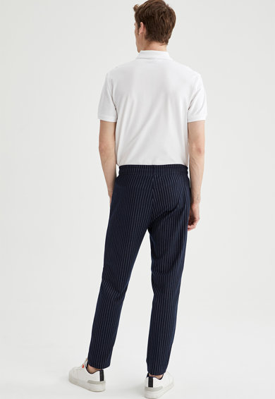 DeFacto Pantaloni jogger cu snur Barbati