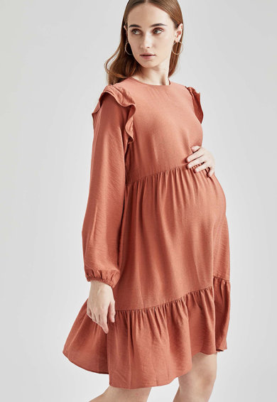 DeFacto Rochie midi evazata pentru gravide Femei