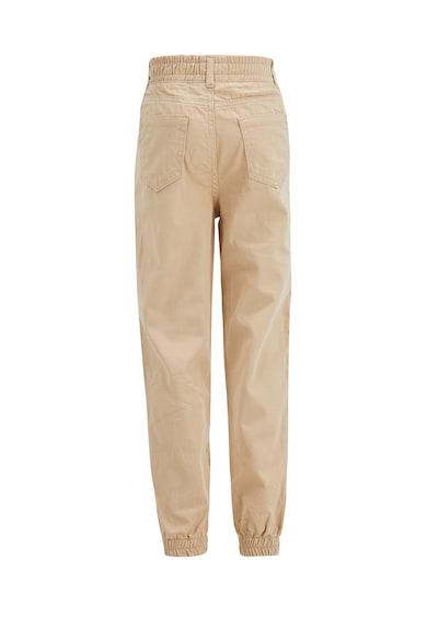 DeFacto Pantaloni cu talie inalta si talie elastica Fete