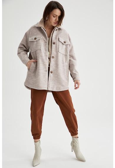DeFacto Palton lejer din amestec de lana Femei