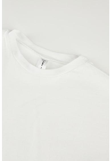 DeFacto Tricou cu imprimeu text Fete