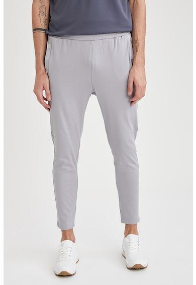 DeFacto Pantaloni jogger slim fit cu buzunare laterale Barbati