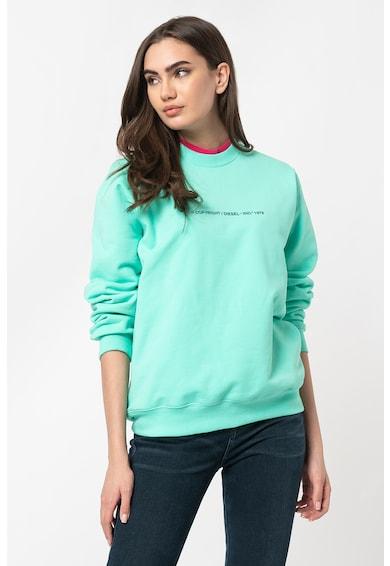 Diesel Bluza sport cu decolteu la baza gatului F-Ang Femei