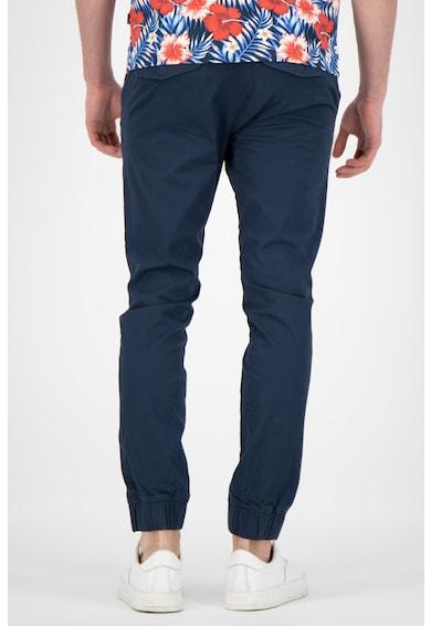 !Solid Pantaloni slim fit cu snur Truc Barbati