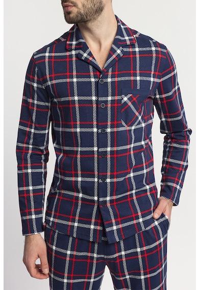 Sofiaman Pijama de bumbac cu model in carouri Dilan Barbati