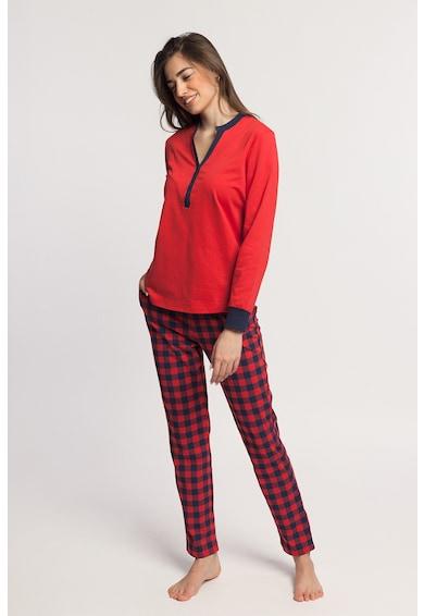 Sofiaman Pijama cu maneci lungi Nature Call Femei