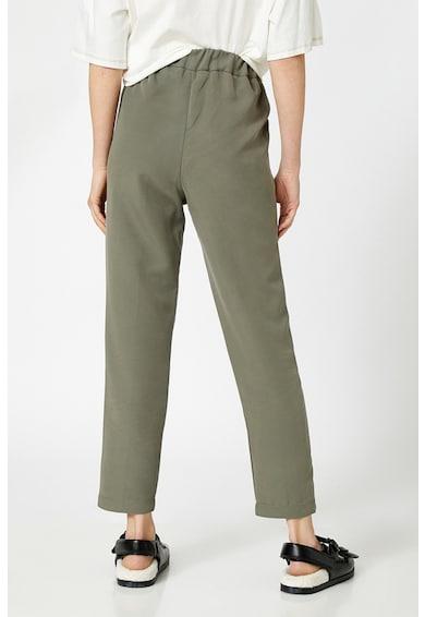 KOTON Pantaloni din amestec de modal, cu talie inalta Femei