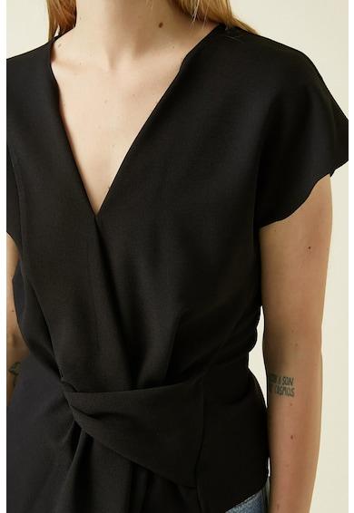 KOTON Bluza asimetrica cu drapaj frontal Femei
