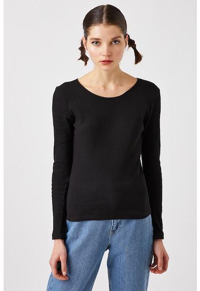 KOTON Bluza din jerseu cu striatii Femei