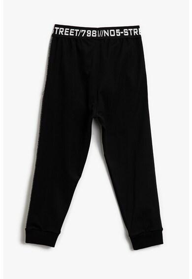 KOTON Pantaloni sport cu mansete cu striatii Baieti