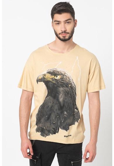 Tigha Tricou cu imprimeu grafic Sky Eagle Barbati