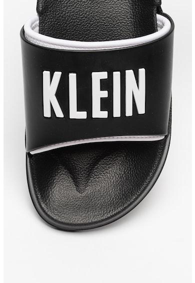 CALVIN KLEIN Papuci cu logo in relief Barbati