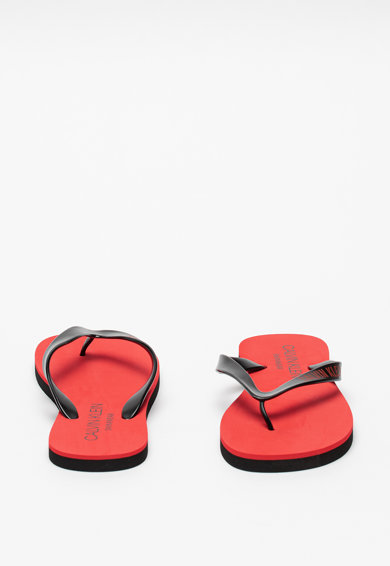 CALVIN KLEIN Papuci flip-flop cu logo Barbati