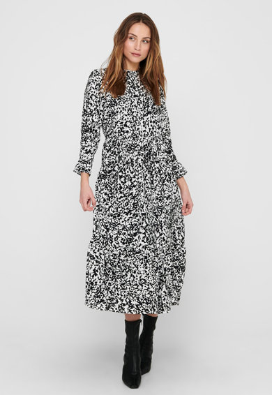 Only Rochie midi cu model abstract Femei