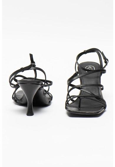 ASH Sandale din piele cu barete multiple Maya Femei