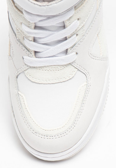 ASH Pantofi sport din piele cu talpa wedge ascunsa Body Femei