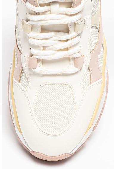 ASH Pantofi sport din piele cu insertii din material textil Born Femei