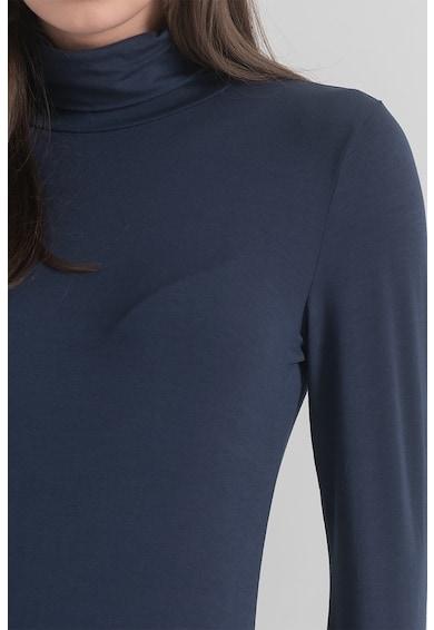 OVS Bluza cu model uni si guler inalt Femei